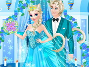 Click to Play Elsa Change to Cat Queen Wedding