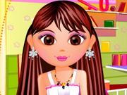 Click to Play Dora Hair Cut