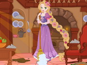 Click to Play Rapunzel House Makeover