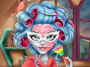 Click to Play Ghoulia Real Makeover