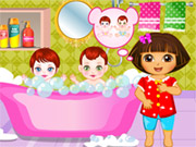Click to Play Dora Sibling Care