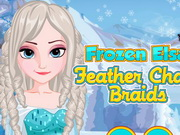 Click to Play Frozen Elsa Feather Chain Braids