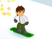 Click to Play Ben 10 Snowboard