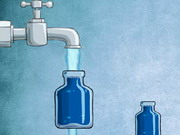 Empty Bottle Water Puzzle