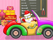 Click to Play Santa Minion Christmas Car