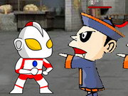 Ultraman Vs Chinese Zombie