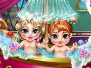 Frozen Baby Bath