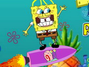 Spongebob Rocket Blast