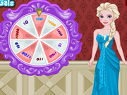 Elsa's Lucky Wheel Shopping