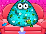 Pou Cool Makeover