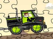 Ben 10 Truck Puzzle