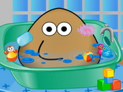 Click to Play Pou Bath And Care
