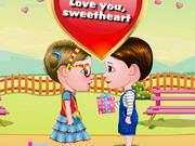 Baby Hazel And Liam Valentine's Day