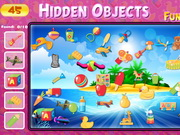 Hidden Objects Funny Toys