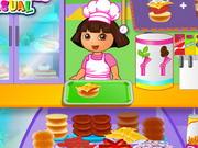 Click to Play Dora Fun Cafe