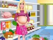 Pregnant Barbie Shopping