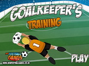 Click to Play Goalkeepers Training