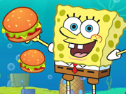 Click to Play Spongebob Cannon Hamburgerun