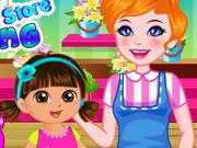 Dora Flower Store Slacking