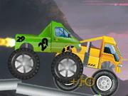 Monster Truck Halloween Race