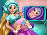 Rapunzel Pregnant Check Up