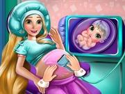 Rapunzel Pregnant Check Up