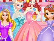 play Elsa cloths shop
