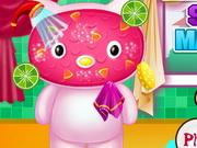 Click to Play Hello Kitty Stylish Makeover