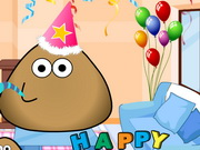 Pou Birthday Party