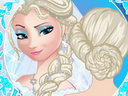 Elsa Wedding Braids