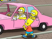 The Simpsons Parking Game