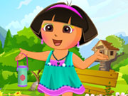 Click to Play Cute Dora Dress Up