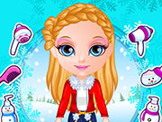 Click to Play Baby Barbie Winter Braids