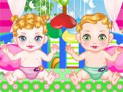 Baby Twin Crib Decro