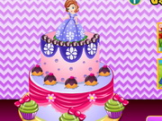 Sumptuous Sofia Cake Decor